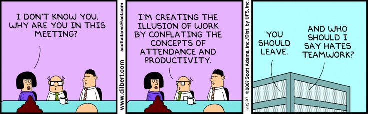 Dilbert Teamwork Comic